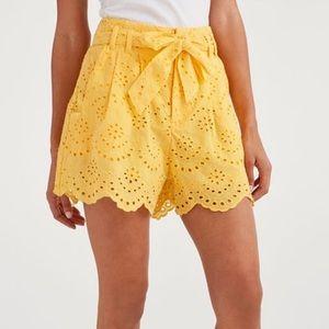 7FAM Eyelet Shorts